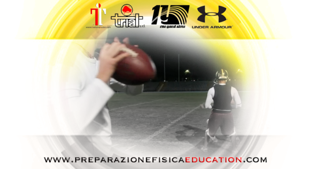 strength and conditioning-football americano giaguari torino WR catch