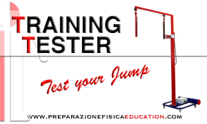 Test your Jump with Training Tester , electronic vertec