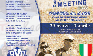 Beach Volley Meeting 2013 – Pasqua al mare!