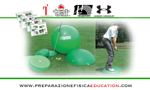 Golf, l'importanza dell'equilibrio Part. 01