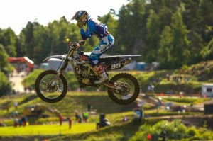 Motocross in salto