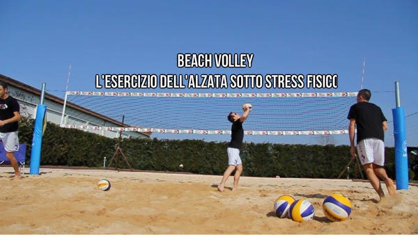 alzata beach volley