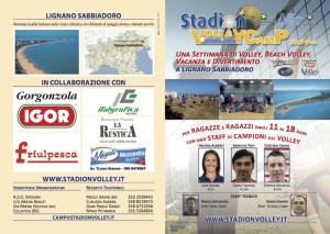 Stadion Volley Camp2014